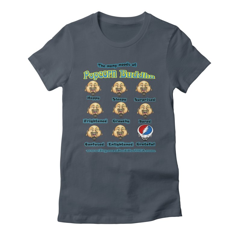 Grateful Mood Women's T-Shirt by Popcorn Buddha Merchandise