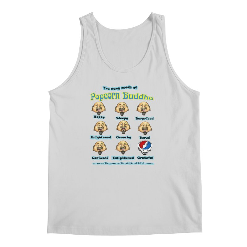 Grateful Mood Men's Regular Tank by Popcorn Buddha Merchandise