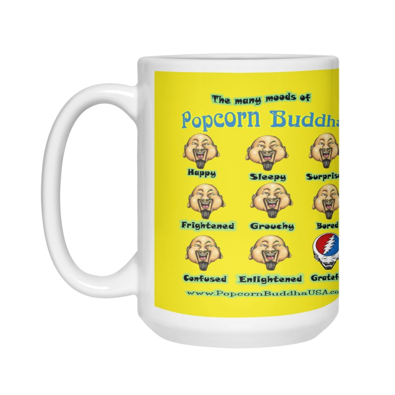 Grateful Mood Accessories Mug by Popcorn Buddha Merchandise