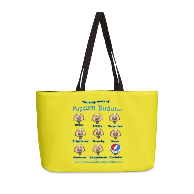 Grateful Mood Accessories Weekender Bag Bag by Popcorn Buddha Merchandise