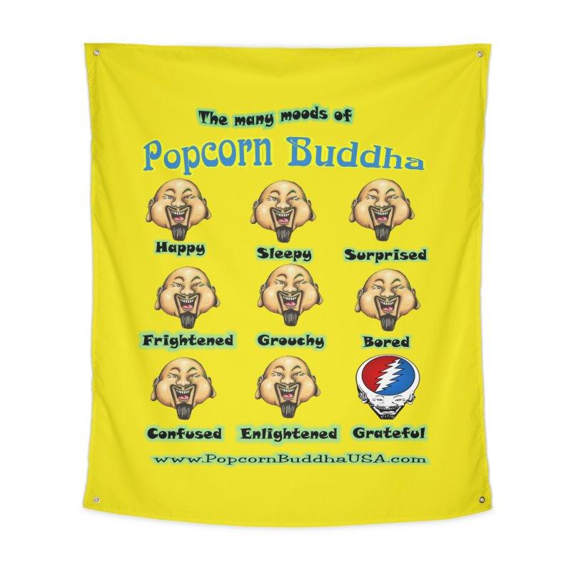 Grateful Mood Home Tapestry by Popcorn Buddha Merchandise
