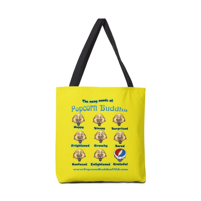 Grateful Mood Accessories Tote Bag Bag by Popcorn Buddha Merchandise