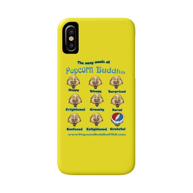 Grateful Mood Accessories Phone Case by Popcorn Buddha Merchandise