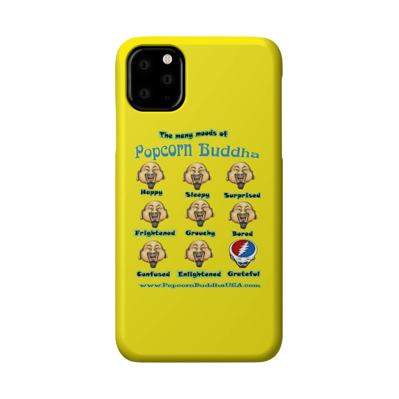 Grateful Mood Accessories Phone Case by Popcorn Buddha Merchandise
