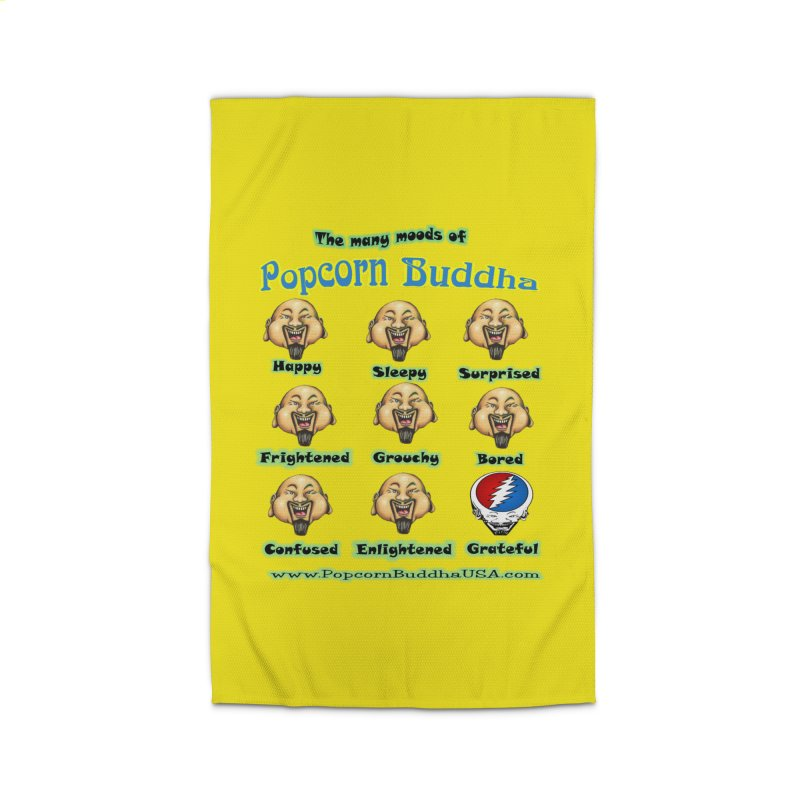 Grateful Mood Home Rug by Popcorn Buddha Merchandise