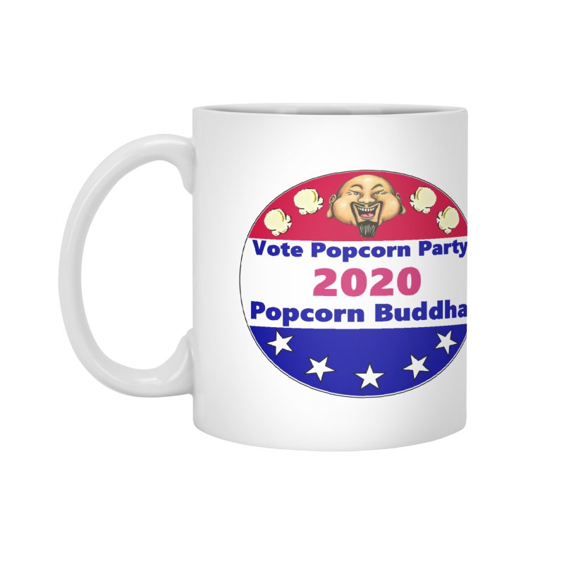 Popcorn Party 2020 Accessories Mug by Popcorn Buddha Merchandise
