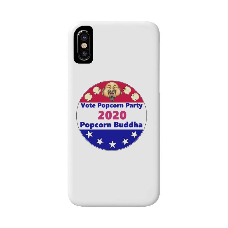 Popcorn Party 2020 Accessories Phone Case by Popcorn Buddha Merchandise