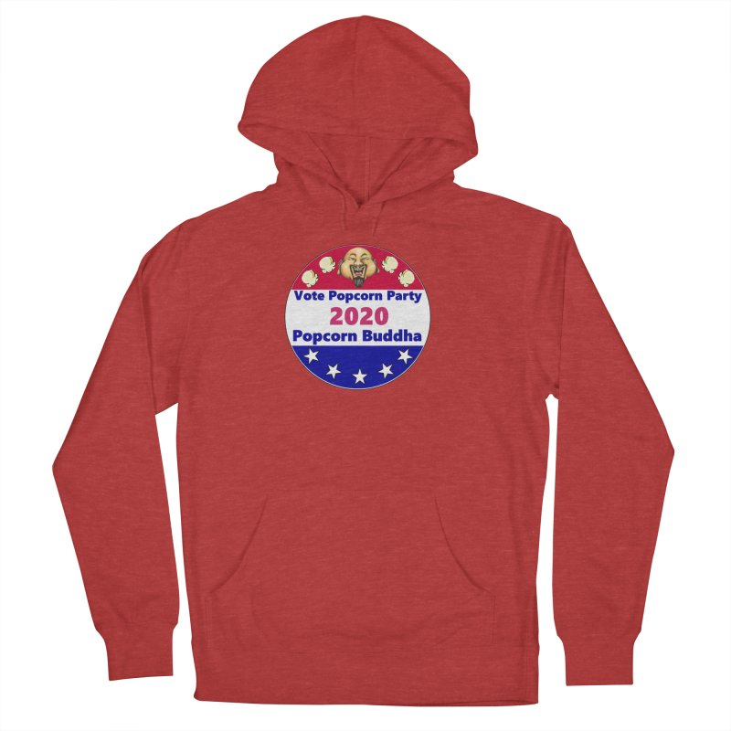 Popcorn Party 2020 Men's French Terry Pullover Hoody by Popcorn Buddha Merchandise