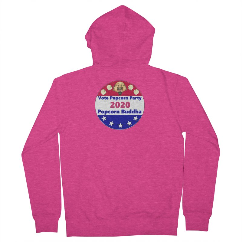 Popcorn Party 2020 Women's French Terry Zip-Up Hoody by Popcorn Buddha Merchandise