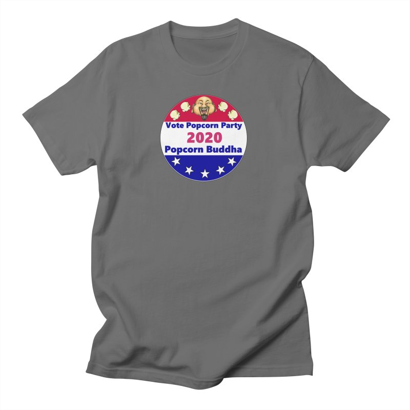 Popcorn Party 2020 Men's T-Shirt by Popcorn Buddha Merchandise