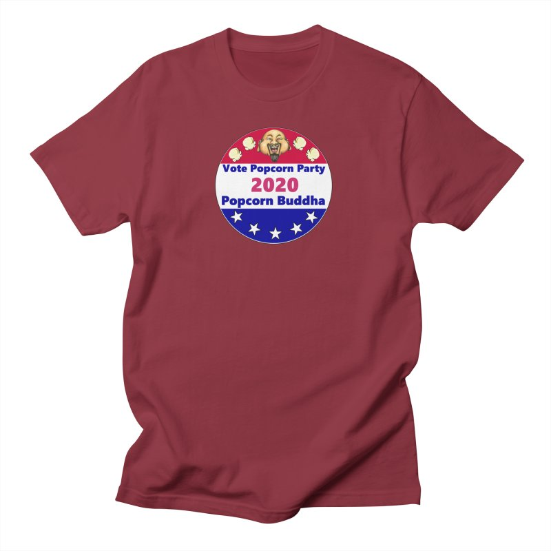 Popcorn Party 2020 Men's Regular T-Shirt by Popcorn Buddha Merchandise