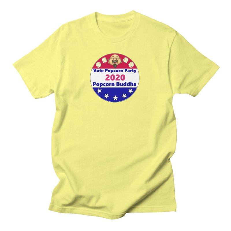 Popcorn Party 2020 Men's Regular T-Shirt by Popcorn Buddha Merchandise