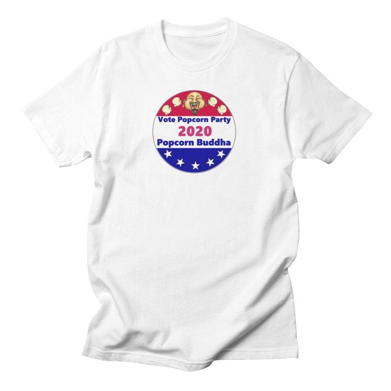 Popcorn Party 2020 Women's Regular Unisex T-Shirt by Popcorn Buddha Merchandise