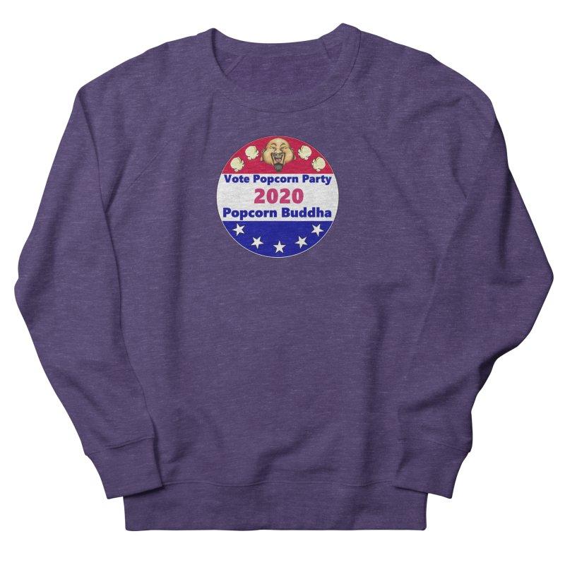 Popcorn Party 2020 Women's French Terry Sweatshirt by Popcorn Buddha Merchandise