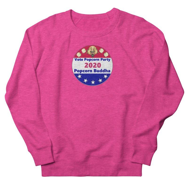 Popcorn Party 2020 Men's French Terry Sweatshirt by Popcorn Buddha Merchandise