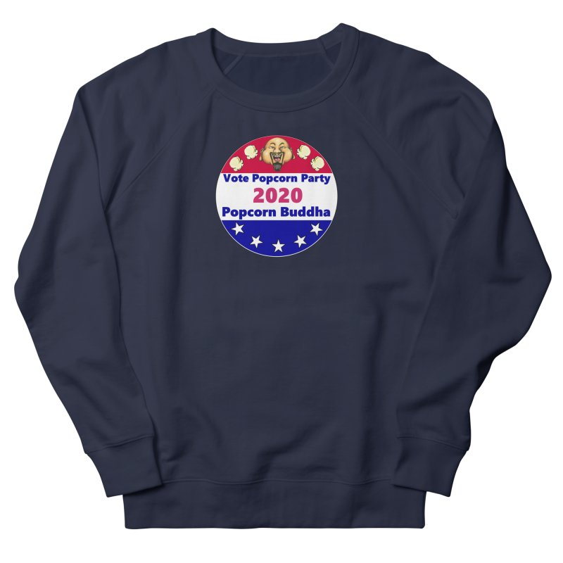 Popcorn Party 2020 Men's French Terry Sweatshirt by Popcorn Buddha Merchandise