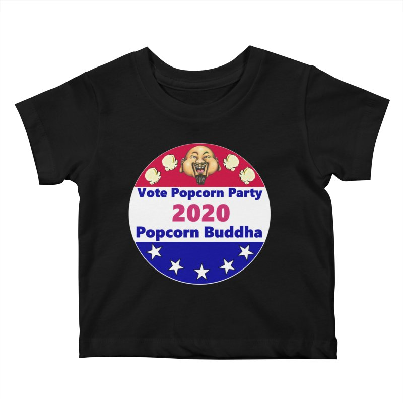 Popcorn Party 2020 Kids Baby T-Shirt by Popcorn Buddha Merchandise
