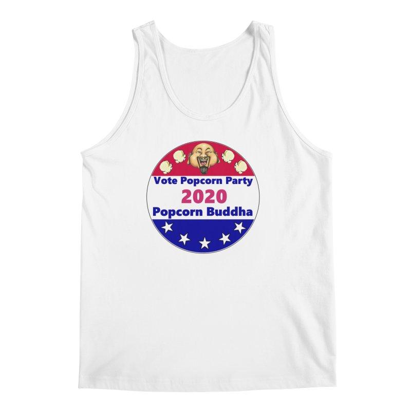 Popcorn Party 2020 Men's Regular Tank by Popcorn Buddha Merchandise