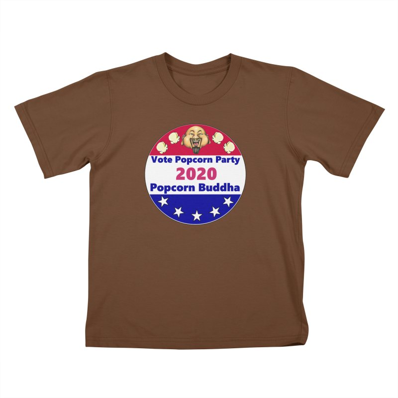 Popcorn Party 2020 Kids T-Shirt by Popcorn Buddha Merchandise