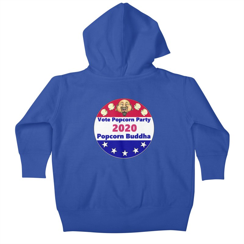 Popcorn Party 2020 Kids Baby Zip-Up Hoody by Popcorn Buddha Merchandise