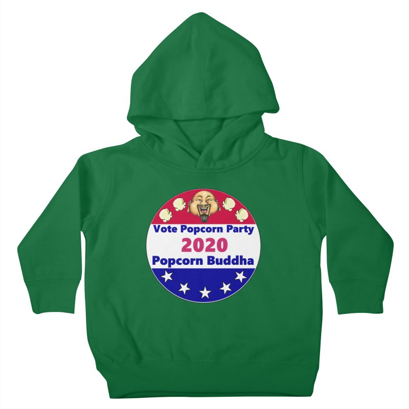 Popcorn Party 2020 Kids Toddler Pullover Hoody by Popcorn Buddha Merchandise