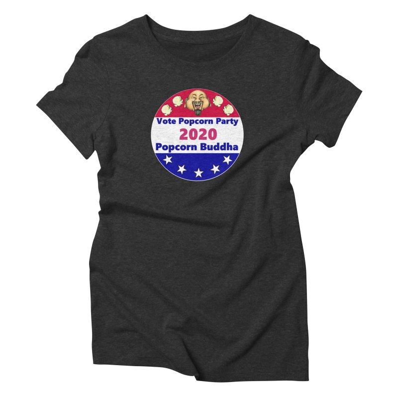 Popcorn Party 2020 Women's Triblend T-Shirt by Popcorn Buddha Merchandise