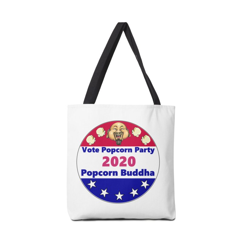 Popcorn Party 2020 Accessories Tote Bag Bag by Popcorn Buddha Merchandise