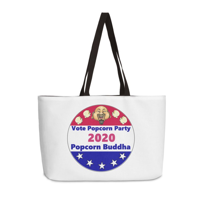 Popcorn Party 2020 Accessories Weekender Bag Bag by Popcorn Buddha Merchandise