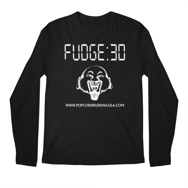 Fudge 30 Men's Regular Longsleeve T-Shirt by Popcorn Buddha Merchandise