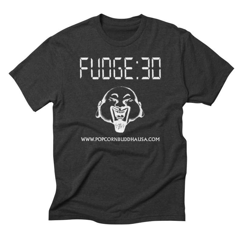 Fudge 30 Men's Triblend T-Shirt by Popcorn Buddha Merchandise