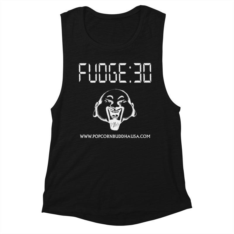 Fudge 30 Women's Tank by Popcorn Buddha Merchandise