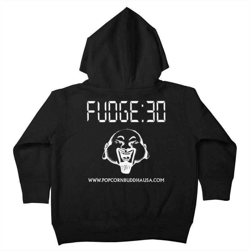 Fudge 30 Kids Toddler Zip-Up Hoody by Popcorn Buddha Merchandise