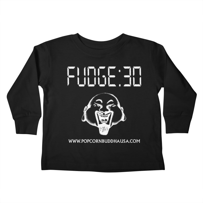 Fudge 30 Kids Toddler Longsleeve T-Shirt by Popcorn Buddha Merchandise