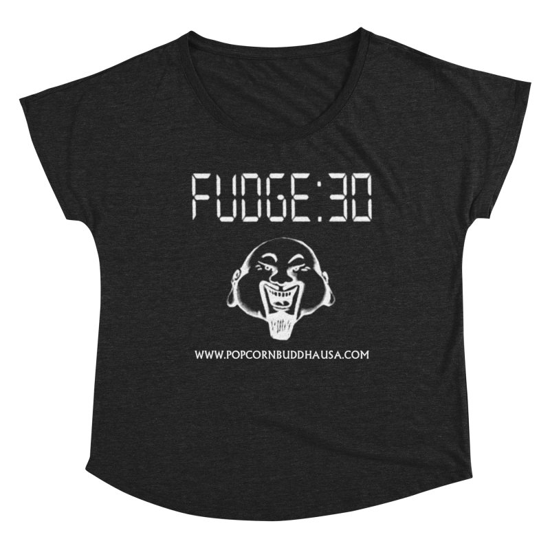 Fudge 30 Women's Scoop Neck by Popcorn Buddha Merchandise