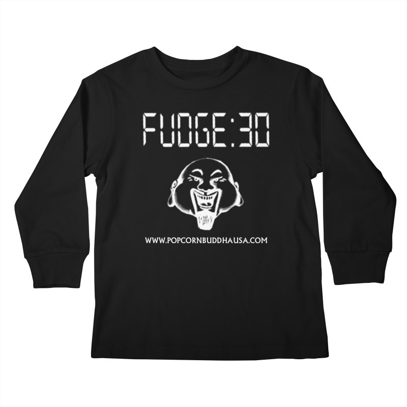 Fudge 30 Kids Longsleeve T-Shirt by Popcorn Buddha Merchandise
