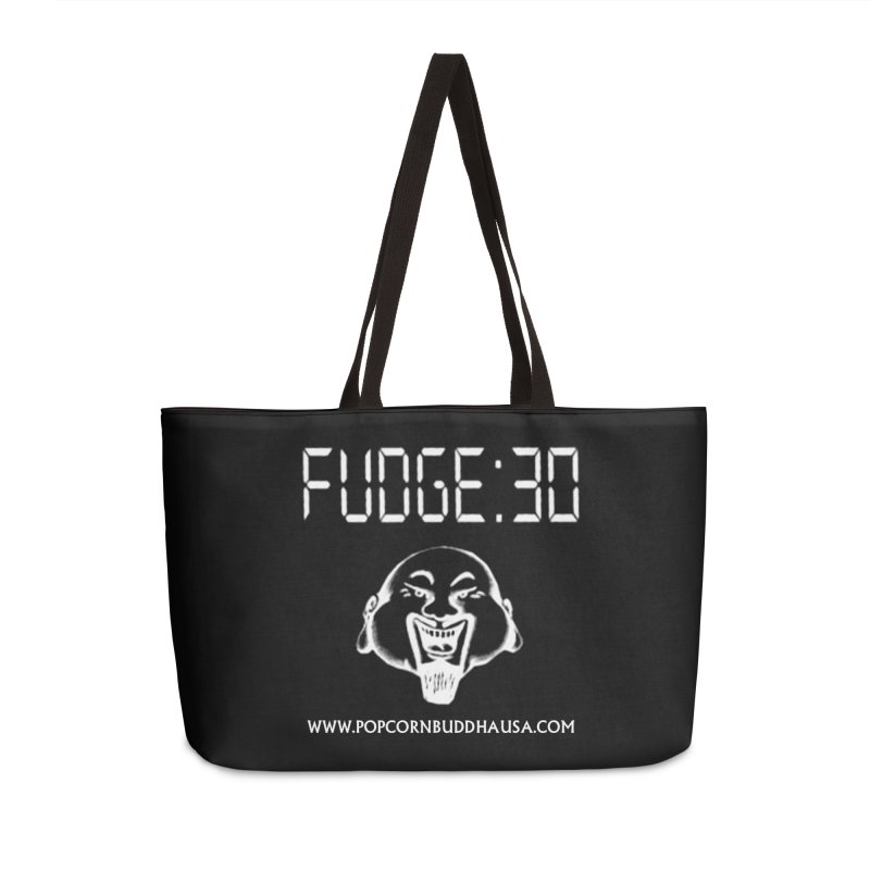 Fudge 30 Accessories Weekender Bag Bag by Popcorn Buddha Merchandise