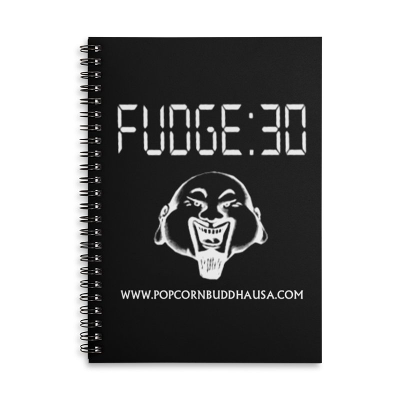 Fudge 30 Accessories Notebook by Popcorn Buddha Merchandise