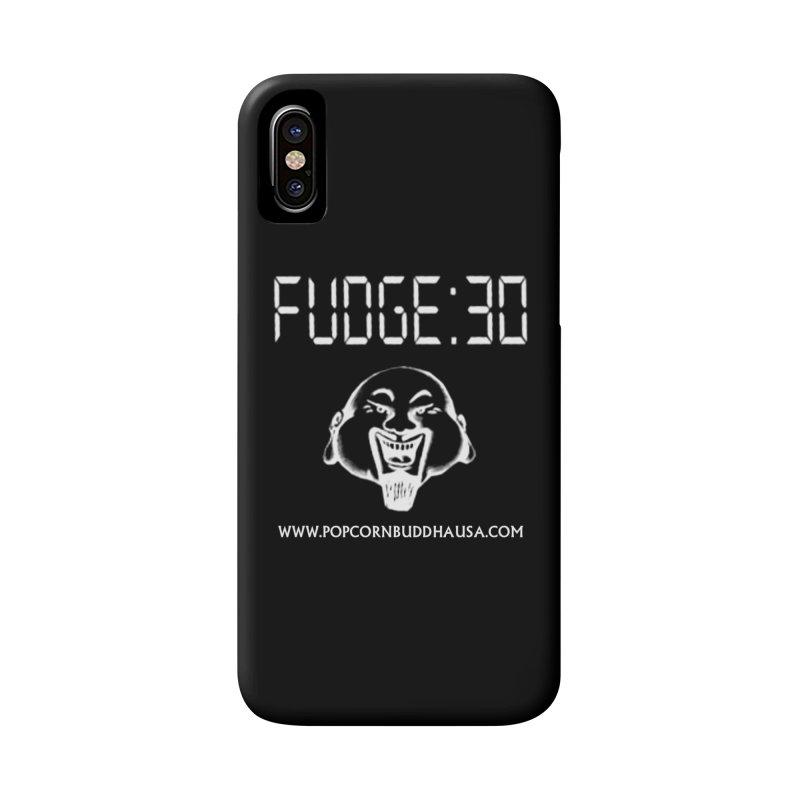Fudge 30 Accessories Phone Case by Popcorn Buddha Merchandise