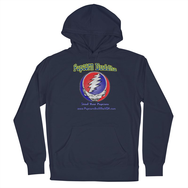Steal your Popcorn Men's Pullover Hoody by Popcorn Buddha Merchandise