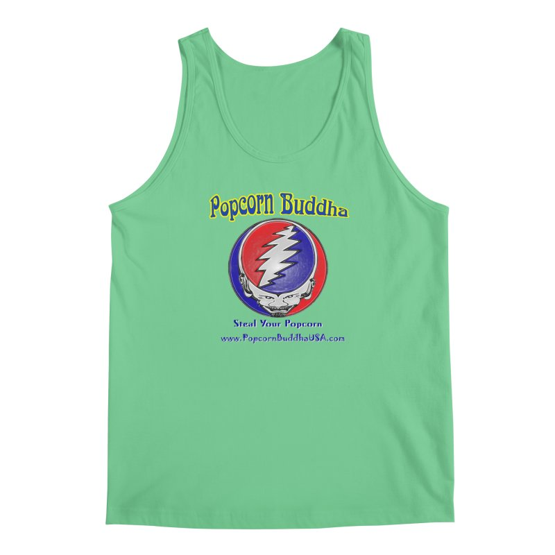 Steal your Popcorn Men's Regular Tank by Popcorn Buddha Merchandise