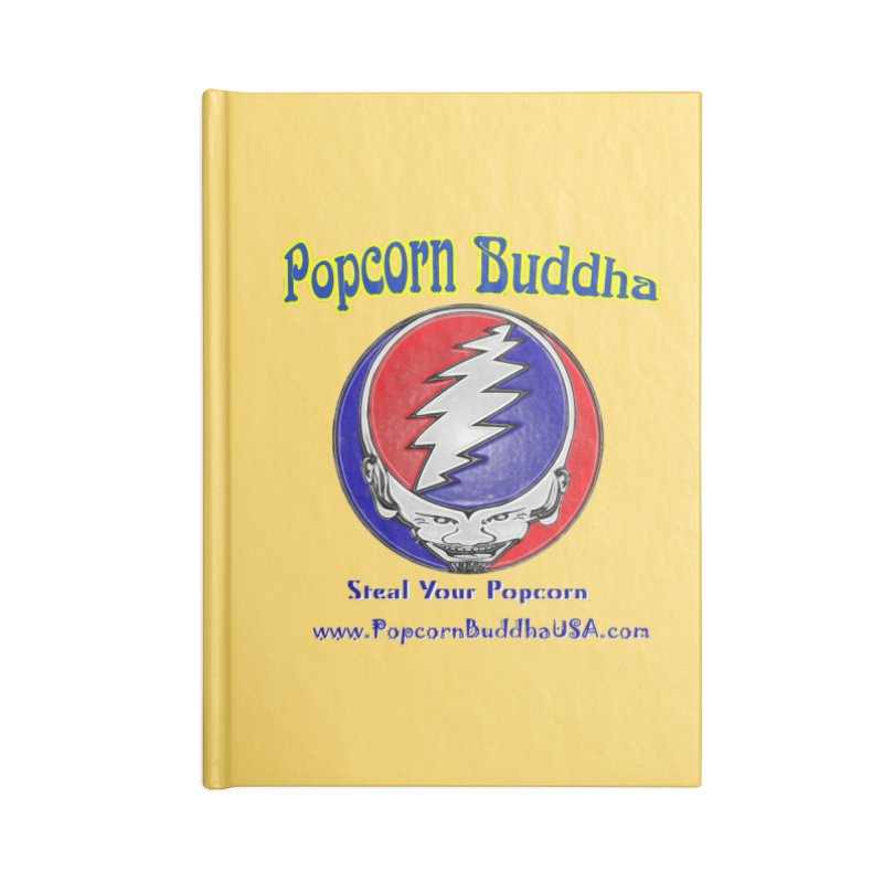 Steal your Popcorn Accessories Lined Journal Notebook by Popcorn Buddha Merchandise