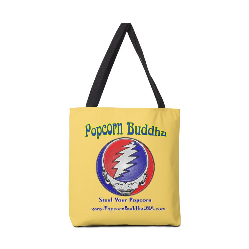 Steal your Popcorn Accessories Tote Bag Bag by Popcorn Buddha Merchandise