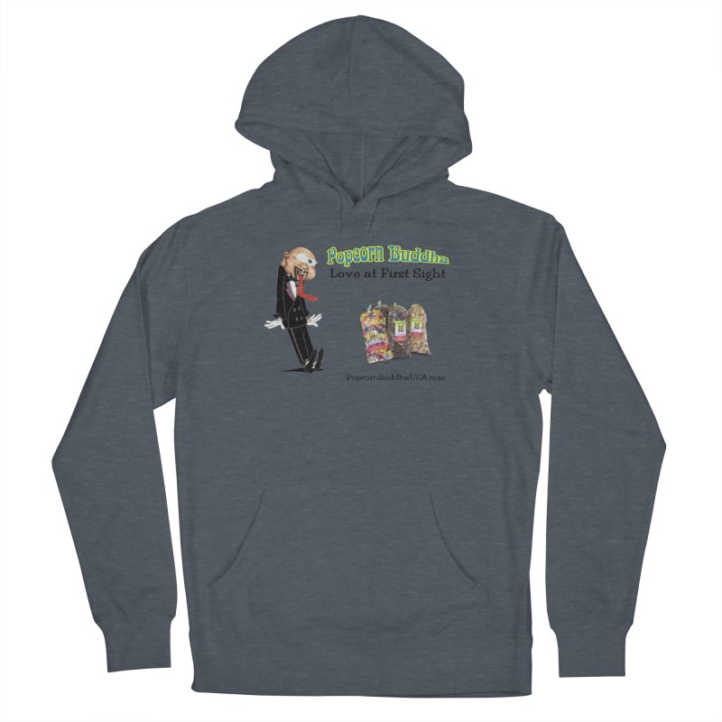 Love at First Sight Men's French Terry Pullover Hoody by Popcorn Buddha Merchandise