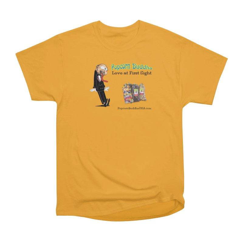 Love at First Sight Men's Heavyweight T-Shirt by Popcorn Buddha Merchandise
