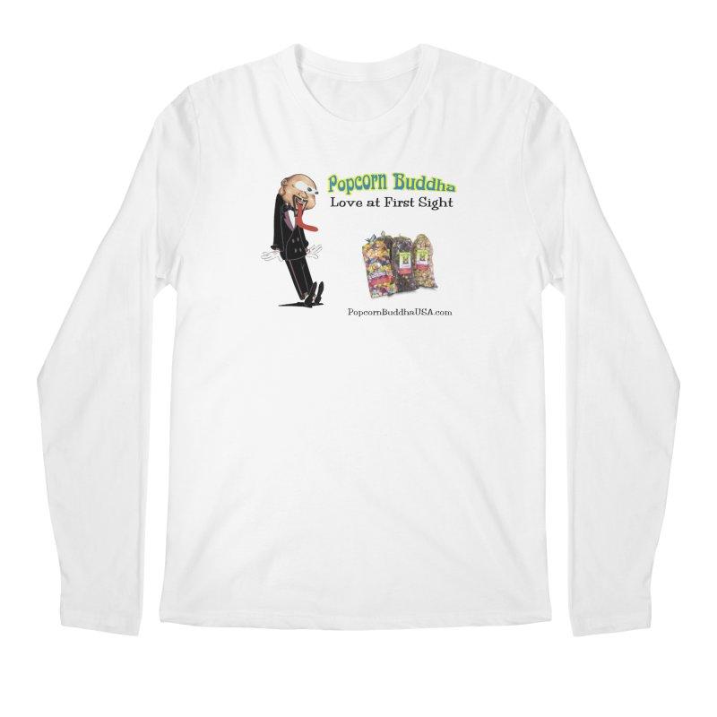 Love at First Sight Men's Regular Longsleeve T-Shirt by Popcorn Buddha Merchandise