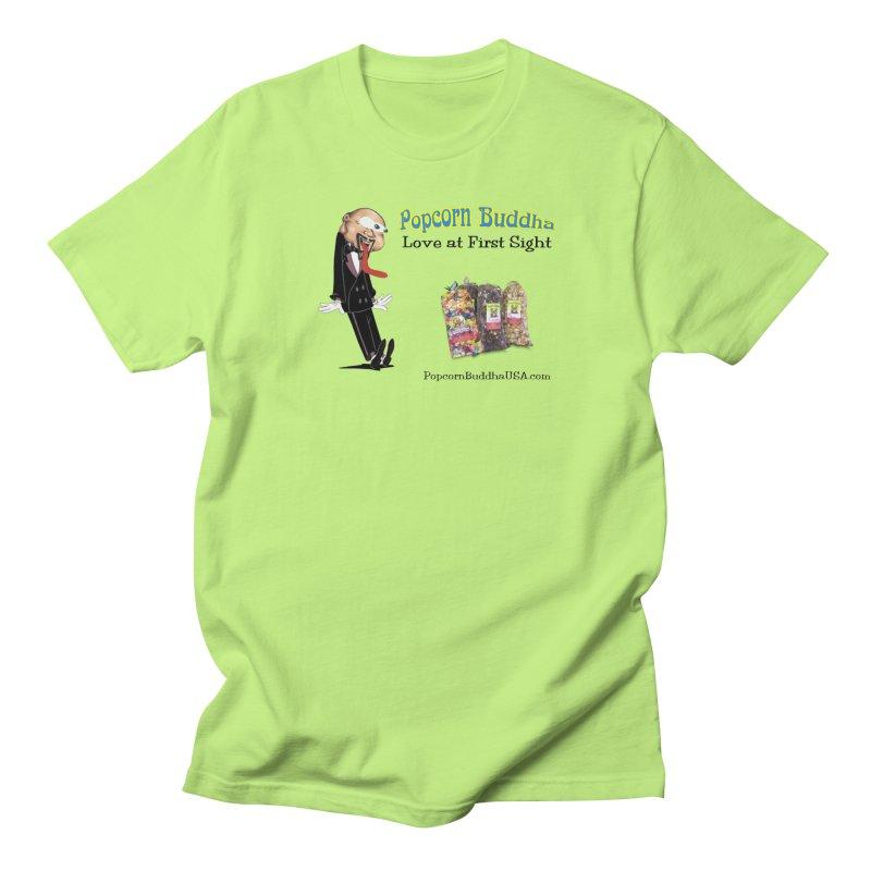 Love at First Sight Men's Regular T-Shirt by Popcorn Buddha Merchandise