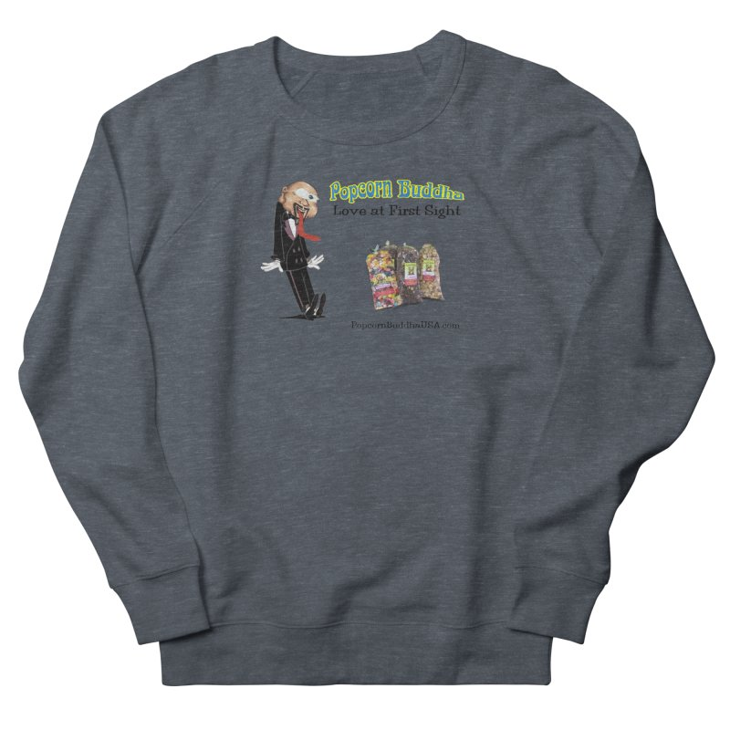 Love at First Sight Men's French Terry Sweatshirt by Popcorn Buddha Merchandise