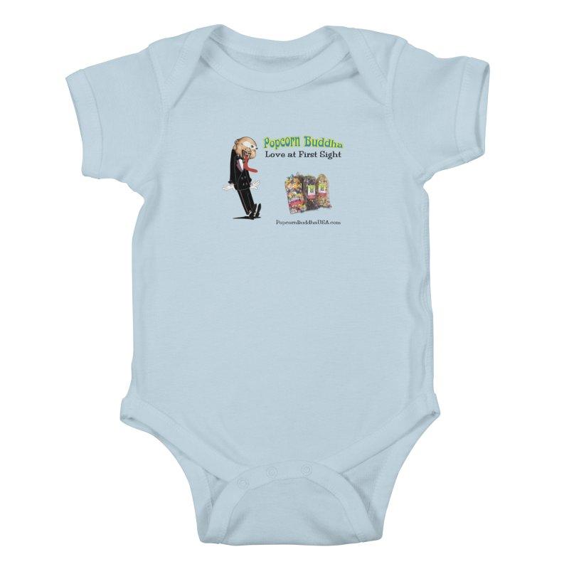 Love at First Sight Kids Baby Bodysuit by Popcorn Buddha Merchandise