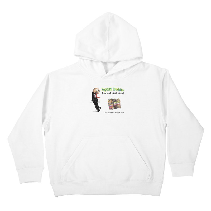 Love at First Sight Kids Pullover Hoody by Popcorn Buddha Merchandise
