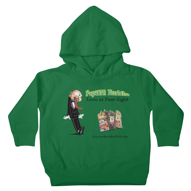 Love at First Sight Kids Toddler Pullover Hoody by Popcorn Buddha Merchandise